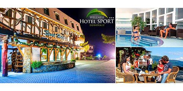 3 až 4 dny v oblíbeném wellness hotelu v Donovalech