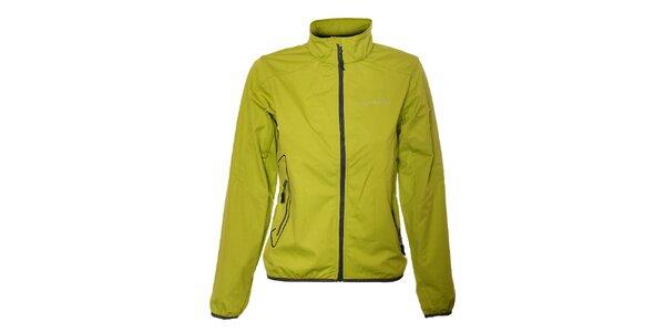 Dámská světle zelená lehká softshellová bunda Trimm