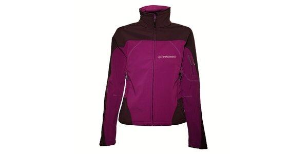 Dámská purpurová softshellová bunda Trimm Katanga