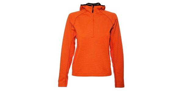 Dámská neonově oranžová mikina Trimm Shelton s kapucí