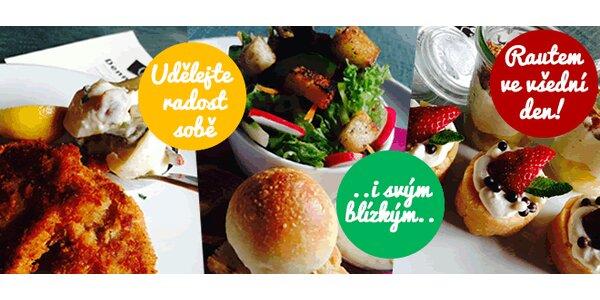 """Obědy """"sněz, co můžeš"""" u Černého Orla"""