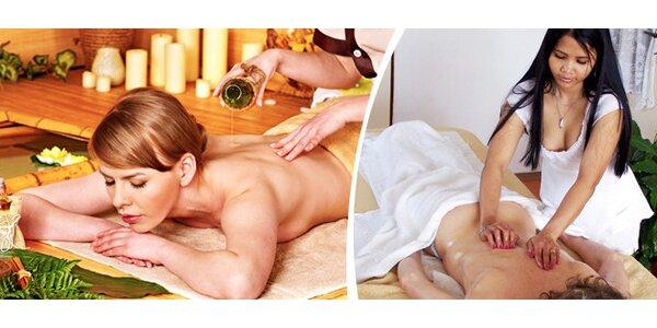 Tradiční thajská olejová masáž celého těla - Chrudim
