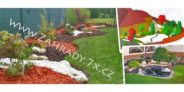 Návrh realizace zahrady
