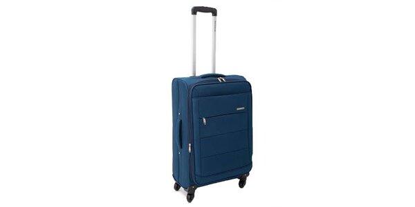 Velký petrolejově modrý kufr Ravizzoni