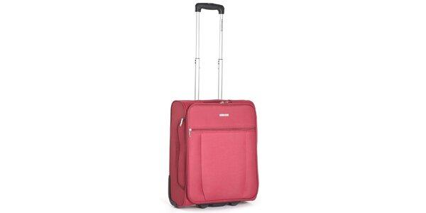 Červený kabinový kufr Ravizzoni