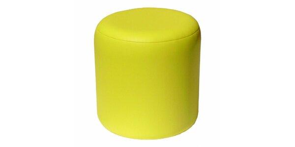 Taburet Pikolo Plus - žlutý