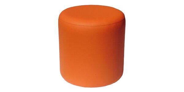 Taburet Pikolo Plus - oranžový