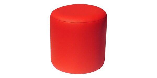 Taburet Pikolo Plus - červený