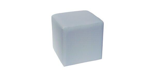 Taburet Domino - šedý