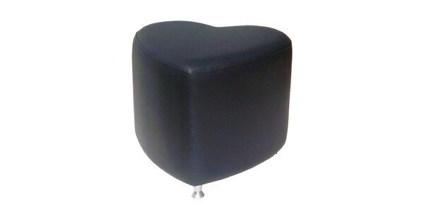 Taburet Styl - černý