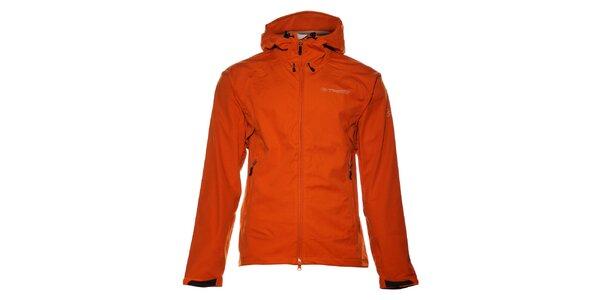 Pánská oranžová softshellová bunda Trimm