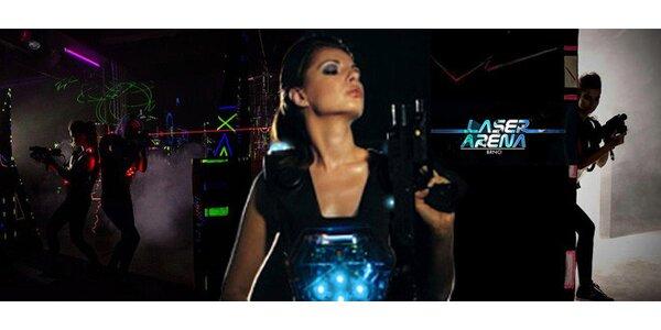 Laser game až pro 10 osob