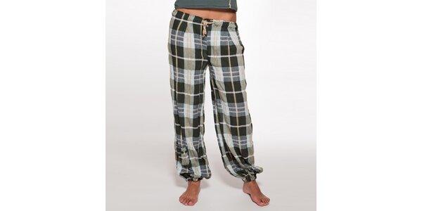 Dámské volné kostkované kalhoty Ian Mosh