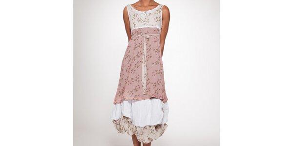 Dámské douhé šaty s vrstvenou sukní Ian Mosh
