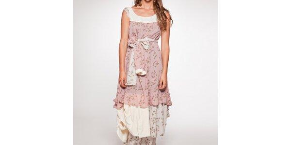 Dámské dlouhé šaty s mašlí v pase Ian Mosh
