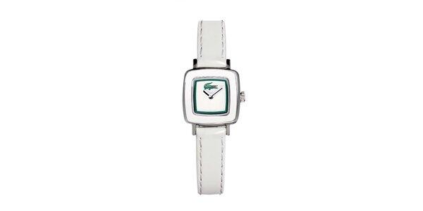 Dámské bílé hodinky Lacoste