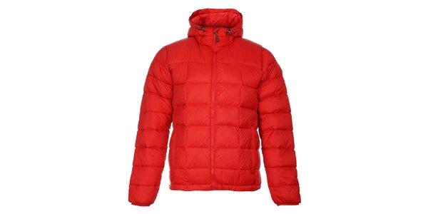 Pánská červená zimní prošívaná bunda Trimm Zephyr