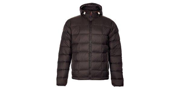 Pánská tmavě šedá zimní prošívaná bunda Trimm Zephyr