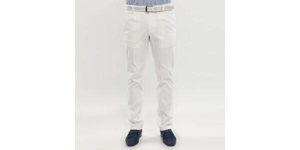 Pánské bílé kalhoty Blažek