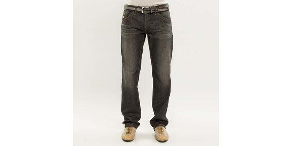 Pánské tmavě šedé džíny Blažek