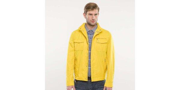Pánská žlutá bunda Blažek