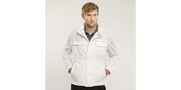 Pánská bílá bunda Blažek
