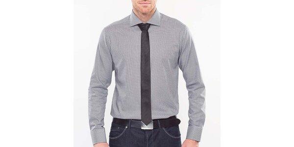 Pánská černo-bílá pepito košile Blažek
