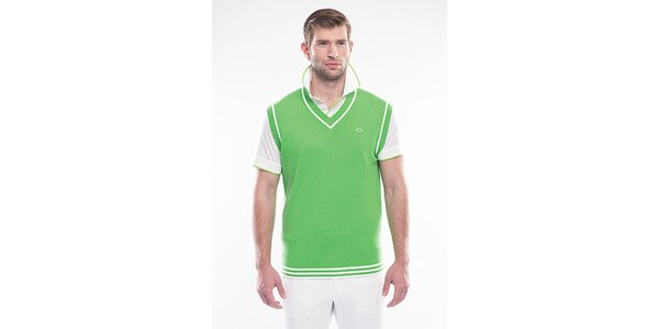 Pánská zelená vesta Blažek