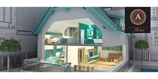 Celkový návrh interiéru od studia Aubrey Home