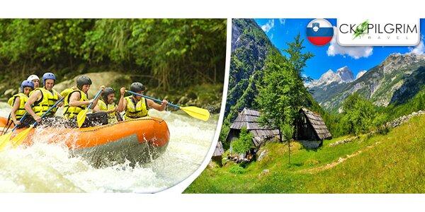 Kaňoning, rafting i hydrospeed v Julských Alpách