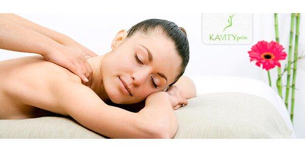 Klasická 40 minutová masáž zad a šíje
