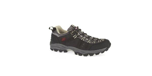 Unisex černé nízké outdoorové boty Kimberfeel