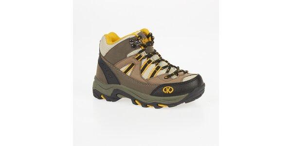 Dámské béžové outdoorové boty Kimberfeel