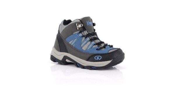 Dámské modré outdoorové boty Kimberfeel