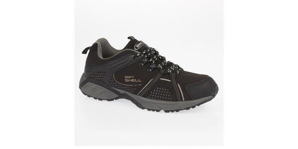 Černé outdoorové boty Kimberfeel