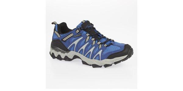 Pánské nízké modré outdoorové boty Kimberfeel