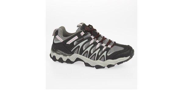 Pánské nízké šedé outdoorové boty Kimberfeel