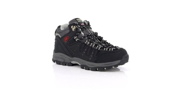 Unisex černé outdoorové boty Kimberfeel