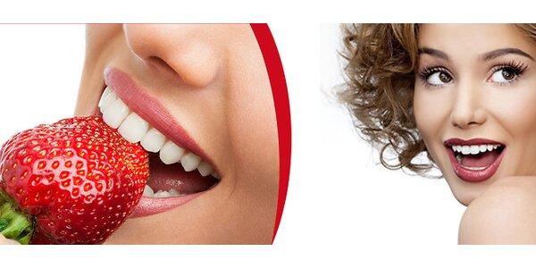 Bezperoxidové bělení zubů certifikovaným laserem Star White z USA