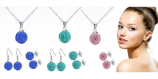 Krystalové šperky včetně poštovného - 10 barev