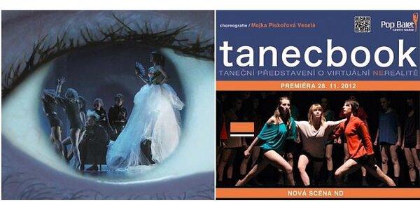 Tanecbook – taneční představení o virtuální ne-realitě