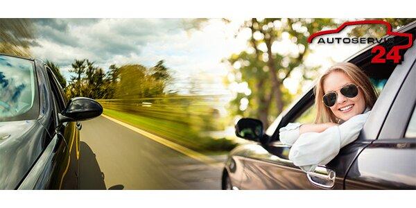 Kompletní prohlídka vozidla včetně diagnostiky