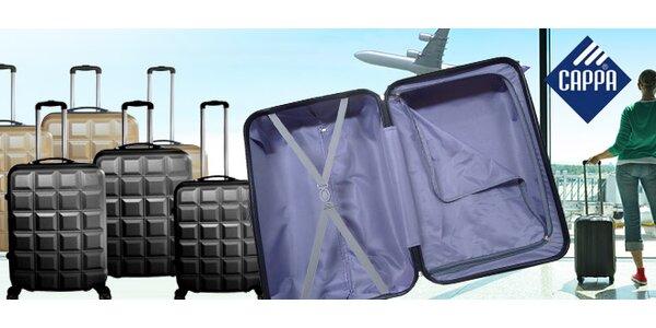 Set 3 kufrů z odolného polykarbonátu