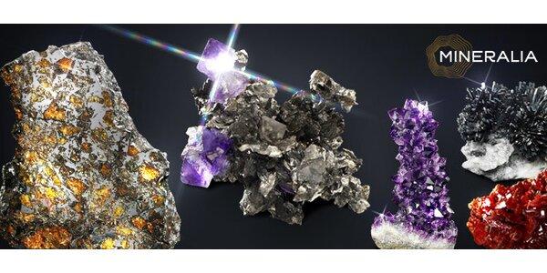 Vstupy do Muzea Mineralia pro všechny věkové kategorie