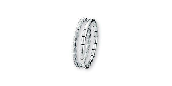 Dámský dvojitý prstýnek Spinning