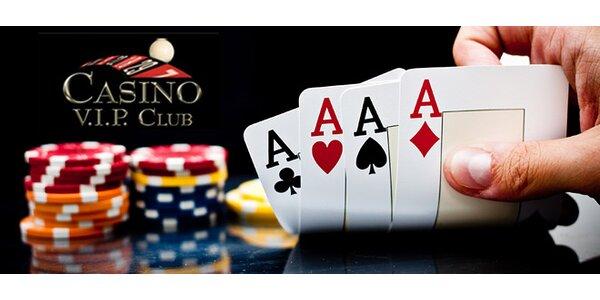 Pokerová škola v luxusním kasinu - v ceně drink i vklad
