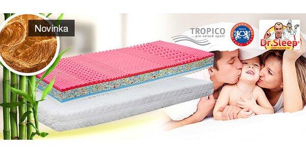 Doprodej matrace Tropico Scarlet s bambusovým potahem 1+1 zdarma