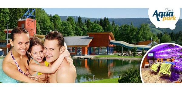 3denní intenzivní relax v hotelu AQUA Park ve Špindlu