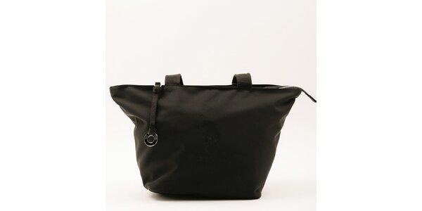 Dámská velká černá kabelka se dvěma uchy U.S. Polo