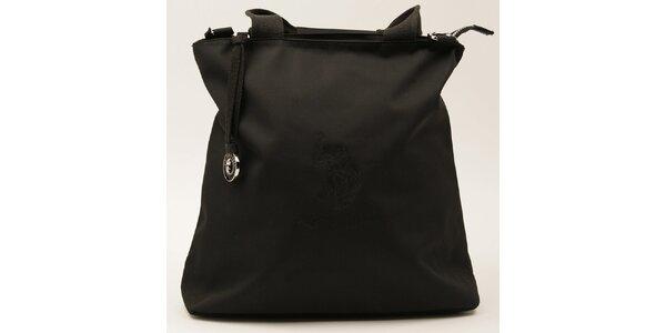 Dámská obdélníková černá kabelka U.S. Polo